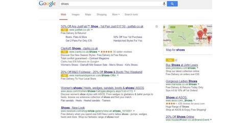 sondage google resultats adwords