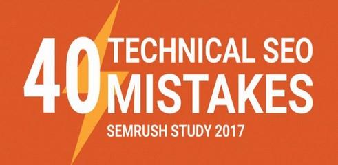 Infographie: les 40 erreurs SEO les plus fréquentes