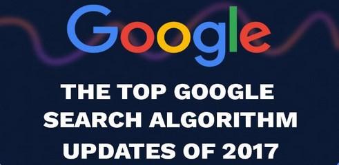Retour sur les mises à jour majeures de l'algorithme de Google en 2017