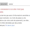 HTTPS: Google identifie les sites en HTTP comme « non sécurisés »