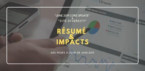 Mises à jour de Google juin 2019 algorithme et diversité des sites dans le moteur de recherche Referenceur ch