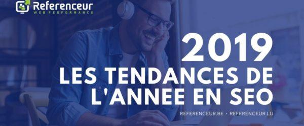 Tendances Google Belgique 2019 - Referenceur